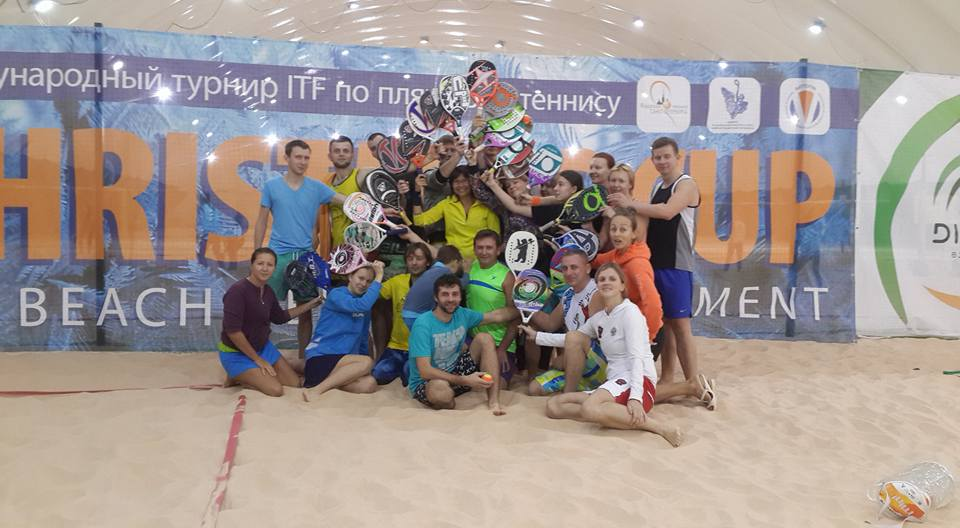 CHRISTMAS CUP 2017 beach tennis tournament